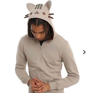 Pusheen Cosplay Cat Hoodie men's medium.